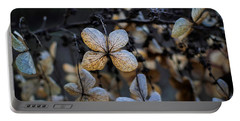 Winterized Hydrangea Portable Battery Charger