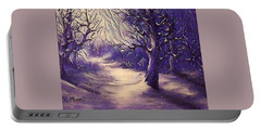 Winter's Beauty Portable Battery Charger