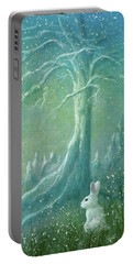 Portable Battery Charger featuring the digital art Winters Coming by Ann Lauwers