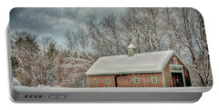 Winters Coming Portable Battery Charger by Tricia Marchlik