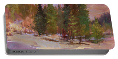 Winter's Eve Plein Air Portable Battery Charger