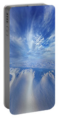 Portable Battery Charger featuring the photograph Winter's Hue by Phil Koch