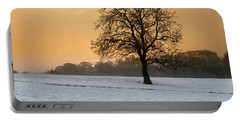Winters Morning Portable Battery Charger