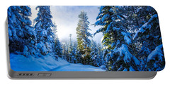 Wintertime Hdr Portable Battery Charger