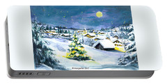 Winterwonderland Portable Battery Charger