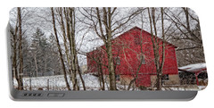 Wintry Barn Portable Battery Charger
