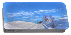Wintry Road Takes You... Portable Battery Charger