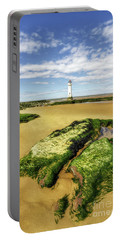 Wirral Lighthouse Portable Battery Charger by Ian Mitchell