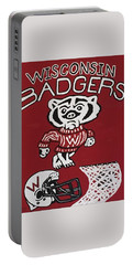 Wisconsin Badgers Portable Battery Charger