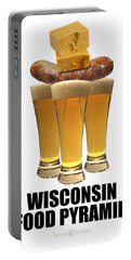 Wisconsin Food Pyramid Portable Battery Charger