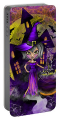 Wisdom Witch Fantasy Art Portable Battery Charger