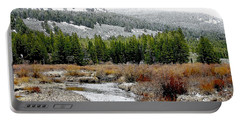 Wise River Montana Portable Battery Charger