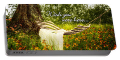 Wish You Were Here 140629 Postcard Style Portable Battery Charger