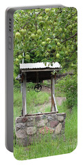Portable Battery Charger featuring the photograph Wished Well For Apples by Natalie Ortiz
