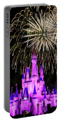 Wishes Fireworks Disney World  Portable Battery Charger