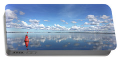 Wismar Bay In Fall Portable Battery Charger