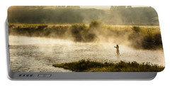 Wisps Of Fog Portable Battery Charger
