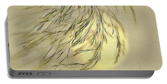 Wispy Sunset-1 Portable Battery Charger by Nina Bradica