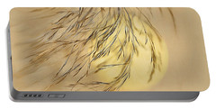 Wispy Sunset-2 Portable Battery Charger by Nina Bradica
