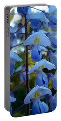 Wisteria - Blue Hooded Ladies Portable Battery Charger