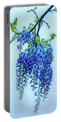 Portable Battery Charger featuring the photograph Wisteria by Chris Lord