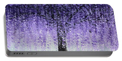Wisteria Dream Portable Battery Charger by Kume Bryant
