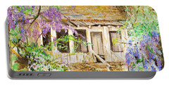 Wisteria House Portable Battery Charger