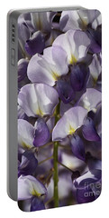 Wisteria In Spring Portable Battery Charger