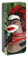 With Love To The Artist Frida Kahlo Portable Battery Charger