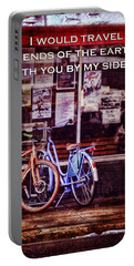 With You By My Side Portable Battery Charger