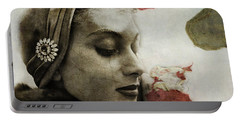 Portable Battery Charger featuring the mixed media Without You  by Paul Lovering