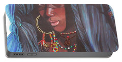 Virtuous Wodaabe Girl          From The Attitude Girls  Portable Battery Charger