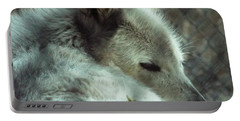 Wolf At Rest Portable Battery Charger