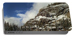 Wolf Creek Pass In Winter Portable Battery Charger