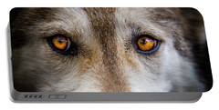 Wolf Eyes Portable Battery Charger