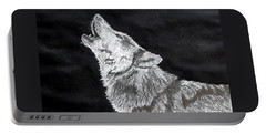 Wolf Howl Portable Battery Charger