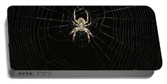 Wolf Spider And Web Portable Battery Charger