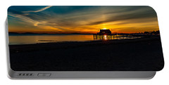 Wollaston Beach Sunrise 3 Portable Battery Charger