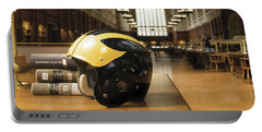 Wolverine Helmet In Law Library Portable Battery Charger