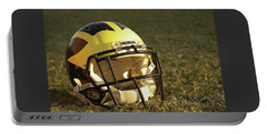 Wolverine Helmet In Morning Sunlight Portable Battery Charger