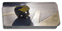 Wolverine Helmet On The Diag Portable Battery Charger