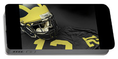 Wolverine Helmet With Jersey Portable Battery Charger