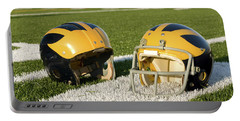 Wolverine Helmets From Different Eras On The Field Portable Battery Charger