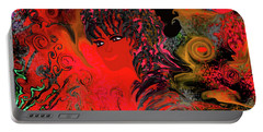 woman art Beautiful Brazilian Woman Portable Battery Charger