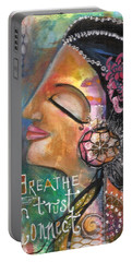 Woman Art Portable Battery Charger