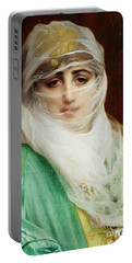 Woman From Constantinople Portable Battery Charger
