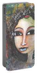 Woman - Indian Portable Battery Charger