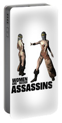 Women Are Sexier Assassins Portable Battery Charger