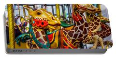 Wonderful Giraffe Ride Portable Battery Charger
