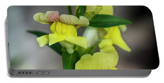 Wonderful Nature - Yellow Antirrhinum Portable Battery Charger